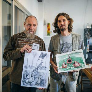 kolonija karikaturista