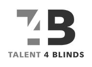 logo- talents4blinds