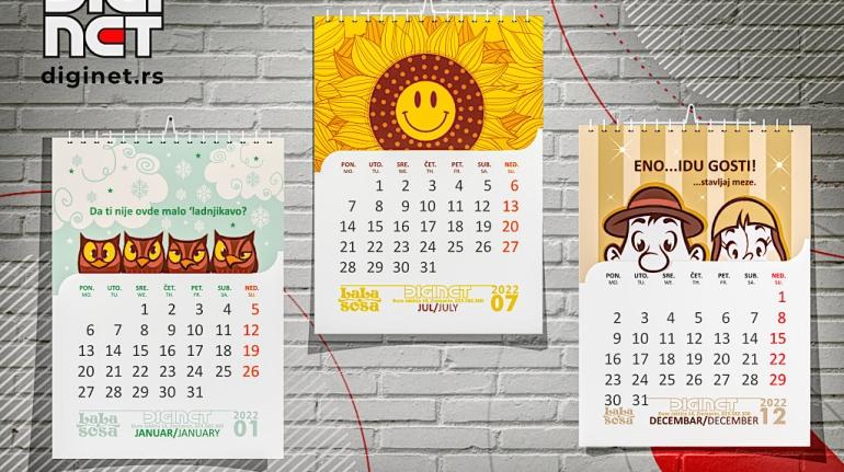 Kalendari - zidni